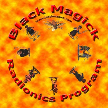Black Radionics CD Cover